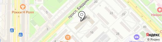 Центр Содействия Застройщикам на карте Новокузнецка