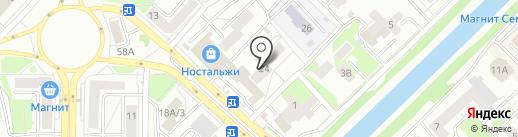 ШОРИЯ ТРЕВЕЛ на карте Новокузнецка