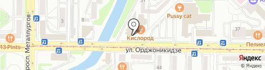 ВТБ Страхование на карте Новокузнецка