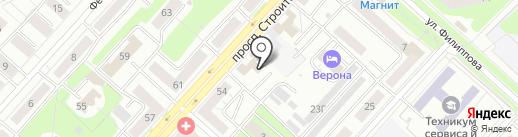 АВТОКЛИК на карте Новокузнецка