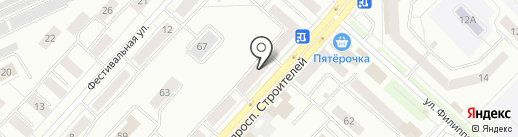 Сибирь-МАЗ-Сервис, ЗАО на карте Новокузнецка