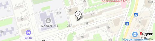 Золотой хмель на карте Новокузнецка