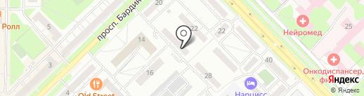 Агентство Превентива на карте Новокузнецка