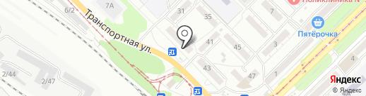 Новотерм на карте Новокузнецка