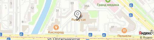 Салон цветов и подарков на карте Новокузнецка