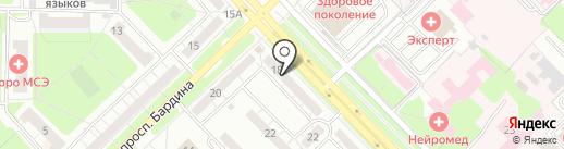 VOLMAX на карте Новокузнецка