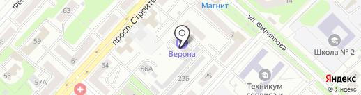 Межрегиональная Сибирская организация шинкиокушинкай каратэ-до, НП на карте Новокузнецка