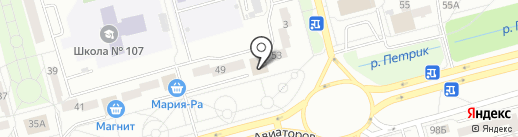 Кузнецкбизнесбанк на карте Новокузнецка