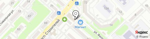 На Белана на карте Новокузнецка