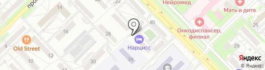 Окей-Оптик на карте Новокузнецка
