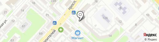 Аркада на карте Новокузнецка