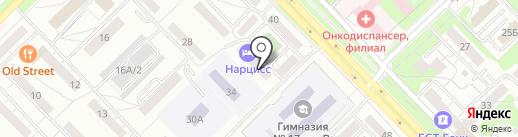 АльфаТехноСтрой на карте Новокузнецка