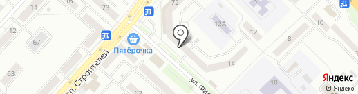 У Марины на карте Новокузнецка