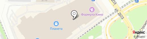 Нити-Нити на карте Новокузнецка