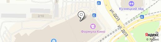 ПремиумBUS на карте Новокузнецка