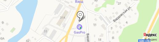 АвтоТоп на карте Сосновки