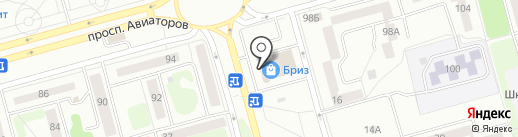 Столичная Аптека на карте Новокузнецка