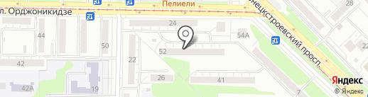 Парикмахерская на карте Новокузнецка