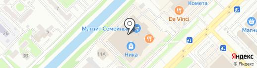 СПИВАКЪ на карте Новокузнецка