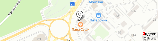 ТЕХНОЛОГИЯ-Н на карте Новокузнецка