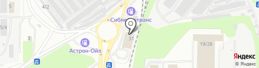 Специализированный центр автозапчастей для KIA и Hyundai на карте Новокузнецка