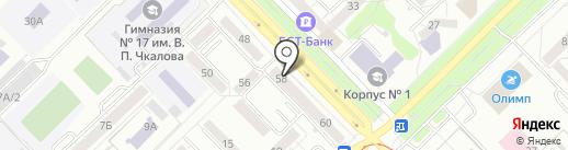 Проведал на карте Новокузнецка