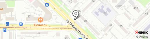 Кенгу 24 на карте Новокузнецка
