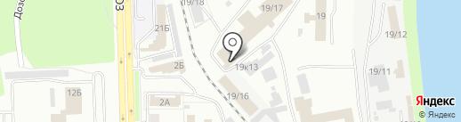 Принт-НК на карте Новокузнецка