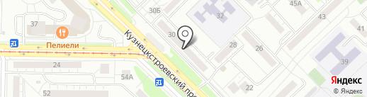 Слетать.ру на карте Новокузнецка