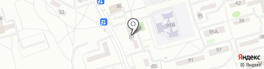 Агент Смит на карте Новокузнецка