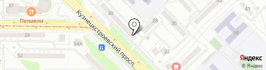 Анекс Тур на карте Новокузнецка
