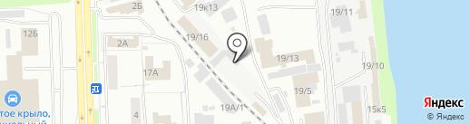 Склад-Сервис на карте Новокузнецка