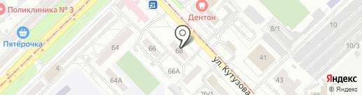 Мир сантехники на карте Новокузнецка