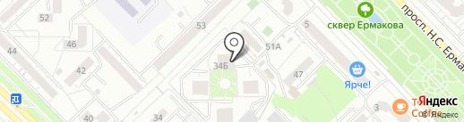 HOME на карте Новокузнецка