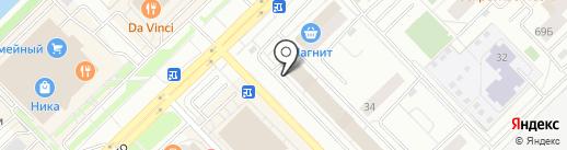 Muscle Market на карте Новокузнецка
