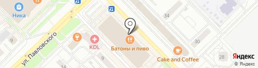 Билайн Бизнес на карте Новокузнецка