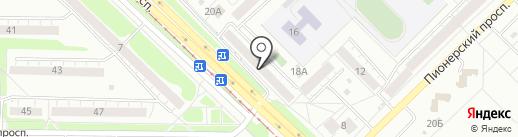 Национальное Бюро Кредитных Историй в Новокузнецке на карте Новокузнецка