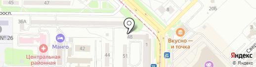 Дары хмеля на карте Новокузнецка