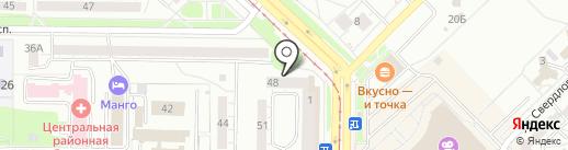 ГолобцоFF на карте Новокузнецка