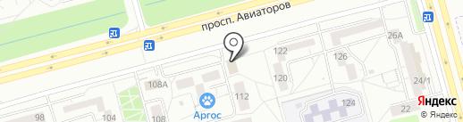 Сеть платежных терминалов на карте Новокузнецка