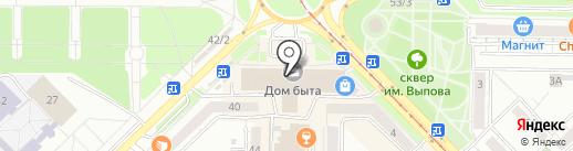 Кирби на карте Новокузнецка