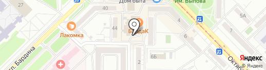Квестория на карте Новокузнецка