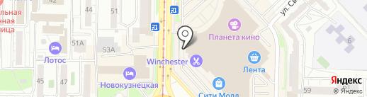 Мебель РосСА на карте Новокузнецка