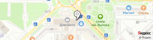 3D-Инвест на карте Новокузнецка