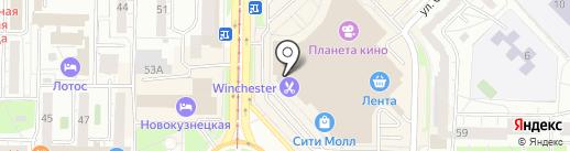 Sela на карте Новокузнецка
