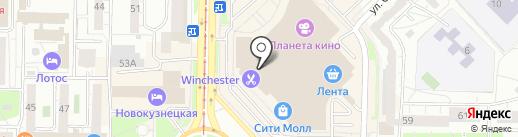 Paese на карте Новокузнецка
