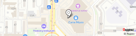 Atlantic на карте Новокузнецка