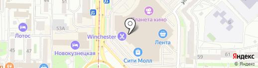 Regina Bottini на карте Новокузнецка