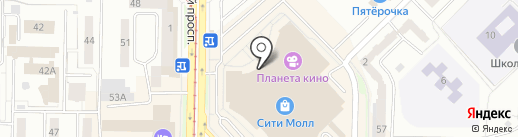 Stilnyashka на карте Новокузнецка