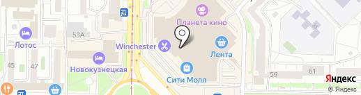 Фифа на карте Новокузнецка